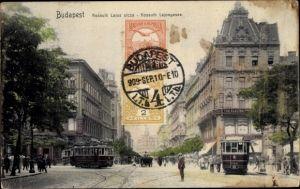Ak Budapest Ungarn, Kossuth Lajos utcza, Kossuth Lajosgasse