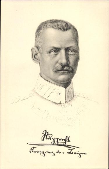 Künstler Ak Kronprinz Rupprecht von Bayern, Portrait, Stengel 49125