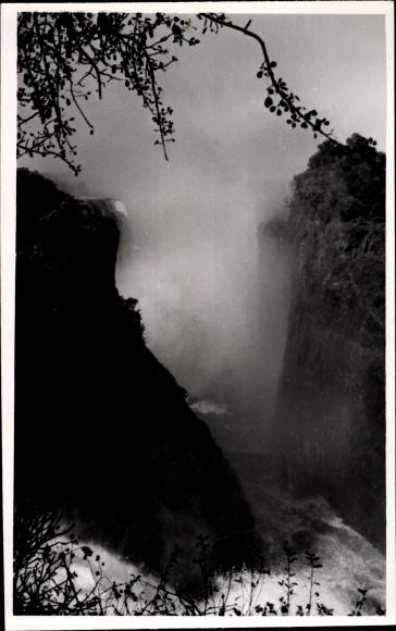 Foto Ak Simbabwe Zimbabwe, Victoria Wasserfälle, Victoria Falls
