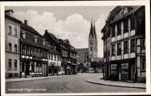 Ak Halberstadt in Sachsen Anhalt, Vogtei und Dom