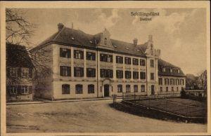 Ak Schillingfürst in Bayern, Blick zum Institut
