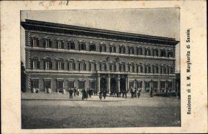 Ak Margherita di Savoia Puglia, Residenza di S. M.