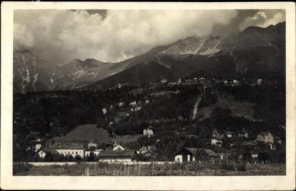 Foto Ak Innsbruck in Tirol, Hungerburgbahn, Teilansicht