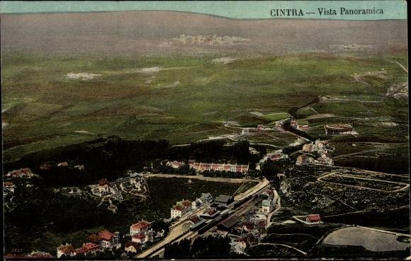 Ak Cintra Sintra Portugal, Vista Panoramica