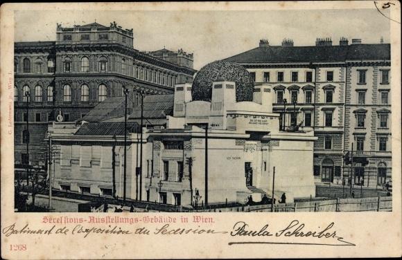 Ak Wien 1. Innere Stadt Österreich, Sezessionsausstellungsgebäude