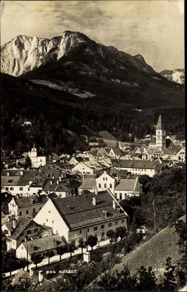 Ak Bad Aussee Steiermark, Totalansicht