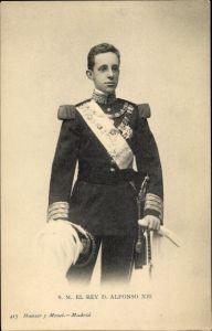 Ak El Rey D. Alfonso XIII., König Alfons XIII. von Spanien