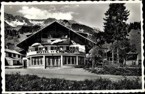 Ak Les Diablerets Kt. Waadt, Hotel Pension du Chamois