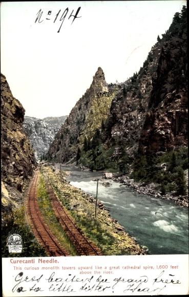 Ak Colorado USA, Curecanti Needle, Gunnison River