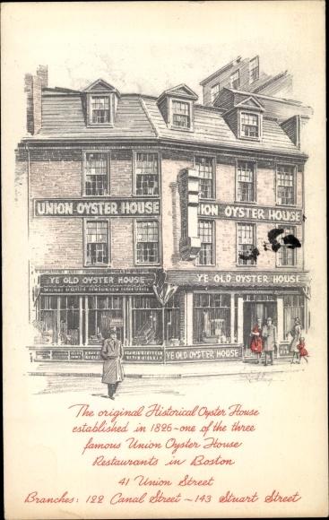 Ak Boston Massachusetts USA, Union Oyster House, 41 Union Street