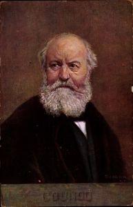 Künstler Ak Komponist Charles Gounod