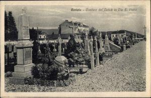 Ak Gorizia Görz Friuli Venezia Giulia, Cimitero dei Caduti in Via S. Pietro