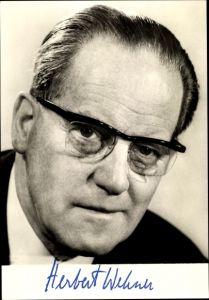 Ak Herbert Wehner, Mitglied des SPD Präsidiums