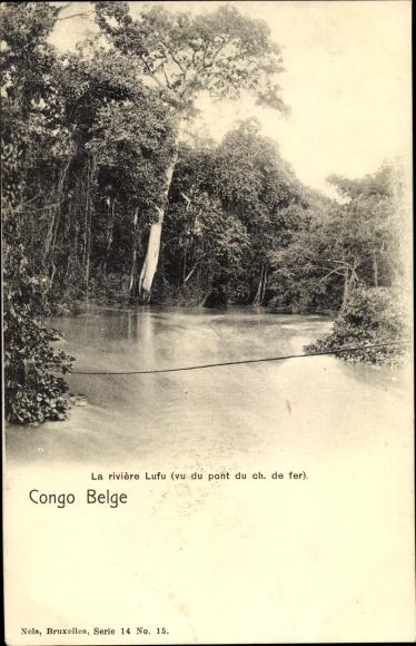 Ak Demokratische Republik Kongo Zaire, La rivière Lufu
