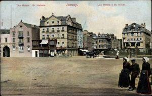 Ak St. Heliers Jersey Kanalinseln, The Hotels