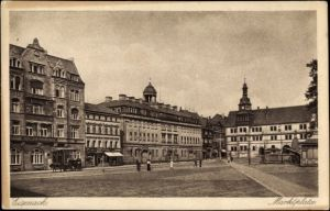 Ak Lutherstadt Eisenach in Thüringen, Marktplatz
