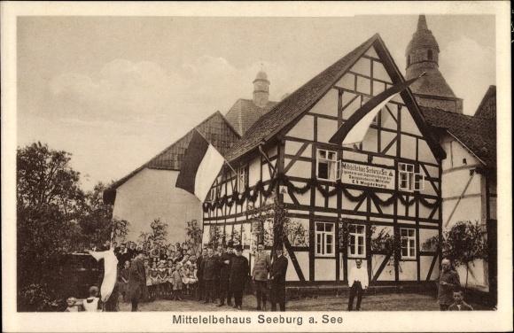 Ak Seeburg Niedersachsen, Mittelelbehaus, Jugendherberge