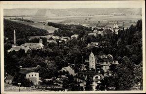 Ak Duszniki Zdrój Bad Reinerz Schlesien, Blick nach dem Bade