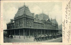 Ak Montreal Québec Kanada, Grand Trunk Bonaventure Station