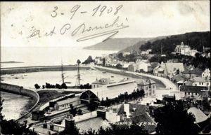 Ak St. Aubin's Jersey Kanalinseln, Harbour