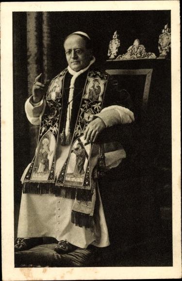 Ak Papst Pius X., Giuseppe Melchiorre Sarto