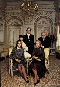 Ak Prince Souverain et la Princesse Grace, Princesse Caroline, Prince Stéphanie, Prince Héréditaire