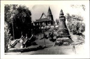 Foto Ak Kambodscha, Phnom Penh, Une Pagode
