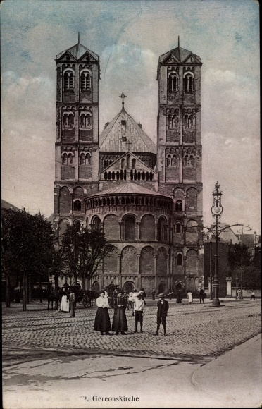 Ak Köln am Rhein, St. Gereonskirche