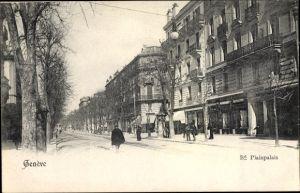 Ak Genève Genf Stadt, Boulevard Plainpalais