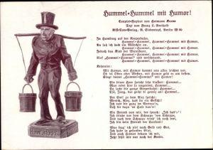 Lied Ak Hamburg, Hummel Hummel mit Humor, Wasserträger