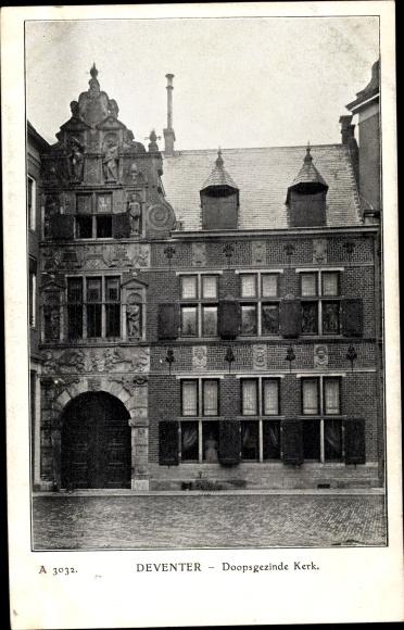 Ak Deventer Overijssel Niederlande, Doopsgezinde Kerk