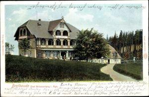 Ak Brückenberg b. Krummhübel Riesengebirge Schlesien, Brotbaude