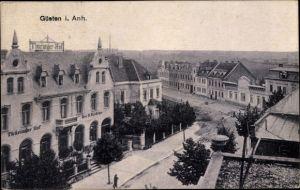 Ak Güsten Sachsen Anhalt, Hotel Thüringer Hof