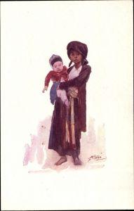 Künstler Ak Enfants Tonkinois, Vietnamesen, Kinder
