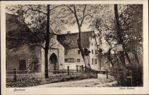 Ak Bochum im Ruhrgebiet, Haus Rechen, Schlosstor