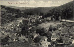 Ak Ruhla in Westthüringen, Panorama von der Knaudtstraße aus
