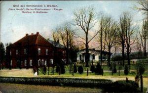 Ak Schönebeck Bremen, Gartenetablissement Neue Weide, H. Grothusen
