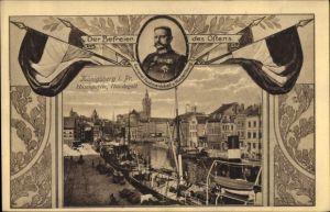 Ak Kaliningrad Königsberg Ostpreußen, Befreier des Ostens Generalfeldmarschall Paul von Hindenburg