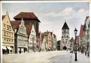 Foto AK, Augsburg, Jakoberstraße, ca. 1910 Nr. 15692 ...