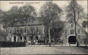Ak Wremen Wurster Nordseeküste Landkreis Cuxhaven, Deutsches Haus