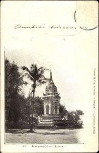 Ak Laos, Un pagodon, Pagode