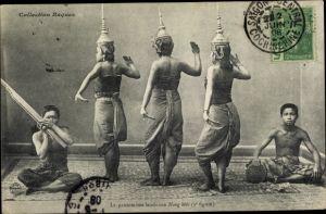 Ak Laos, La pantomime laotienne Nang Meo, 3e figure