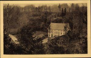 Ak Wachau in Brandenburg, Gräfl. v. Brühl'sche Marienmühle im Seifersdorfer Tal