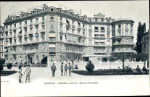 Ak Genève Genf Stadt, Grand Hotel Beau Rivage