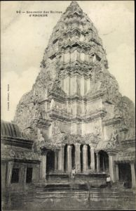 Ak Angkor Wat Kambodscha, Ruine, Tempelanlage