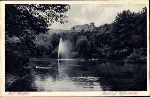 Ak Bad Hersfeld in Hessen, Blick auf Wigbertshöhe