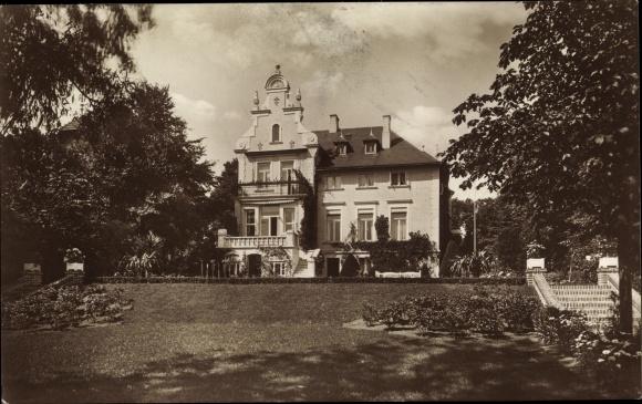 Foto Ak Grevesmühlen in Mecklenburg Vorpommern, Haus in der Bismarckstraße 1