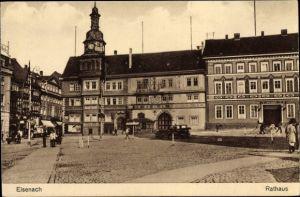 Ak Lutherstadt Eisenach in Thüringen, Rathaus