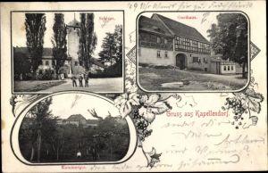 Ak Kapellendorf Landkreis Weimarer Land, Schloss, Gasthaus, Kammergut