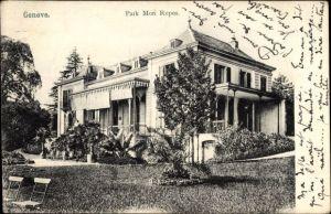 Ak Genève Genf Stadt, Park Mon Repos, Villa
